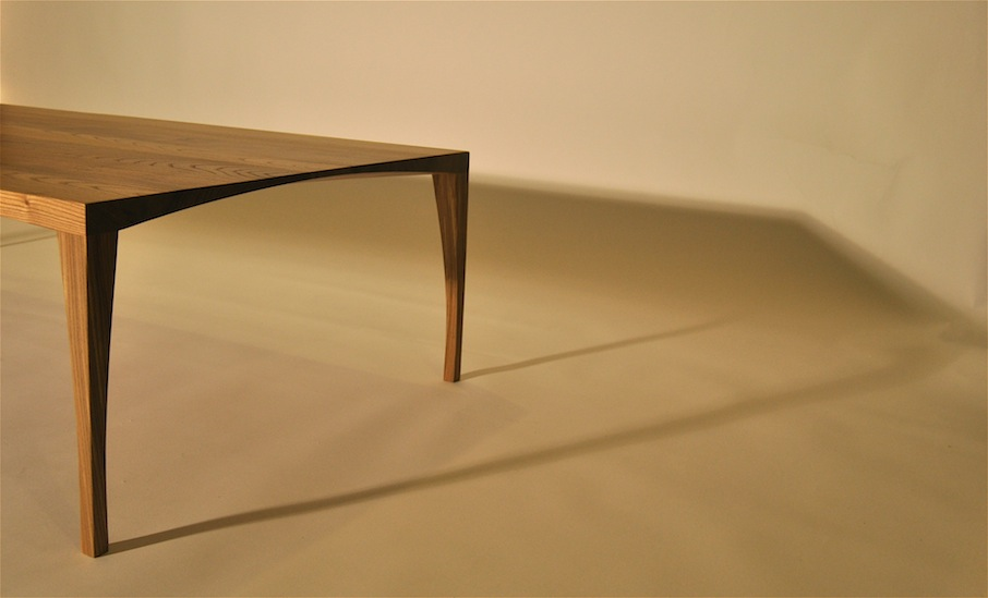 Elm Coffee Table by Mano leg detail