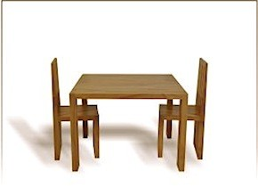 Il Mio Child's Table and Chair Set
