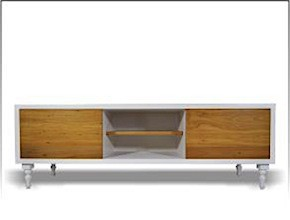 Mano Laca Recycled Rimu Entertainment Unit