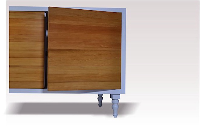 Matai Sideboard by Mano - Cupboard detail
