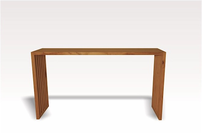 Plywood sideboard or console table by Mano