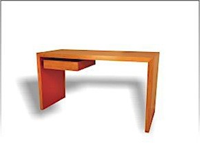 Red Writing Desk