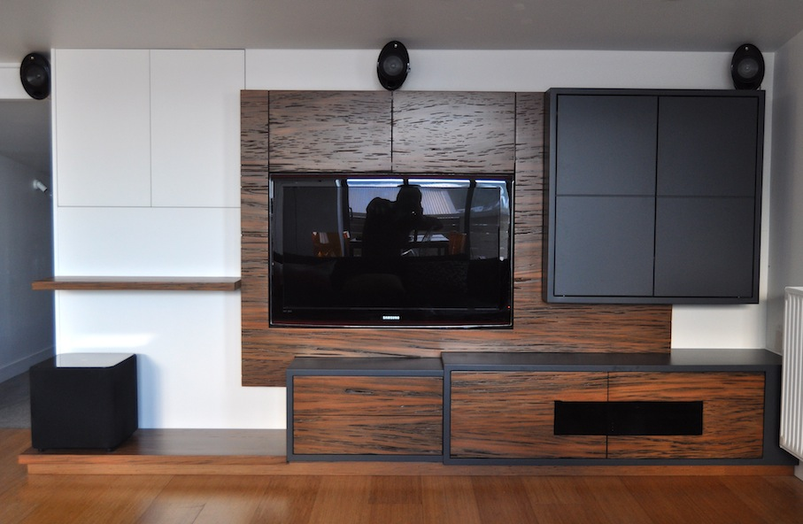 Entertainment unit fit out by Mano