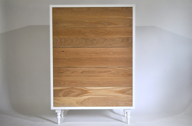 Oak Tallboy made by Mano