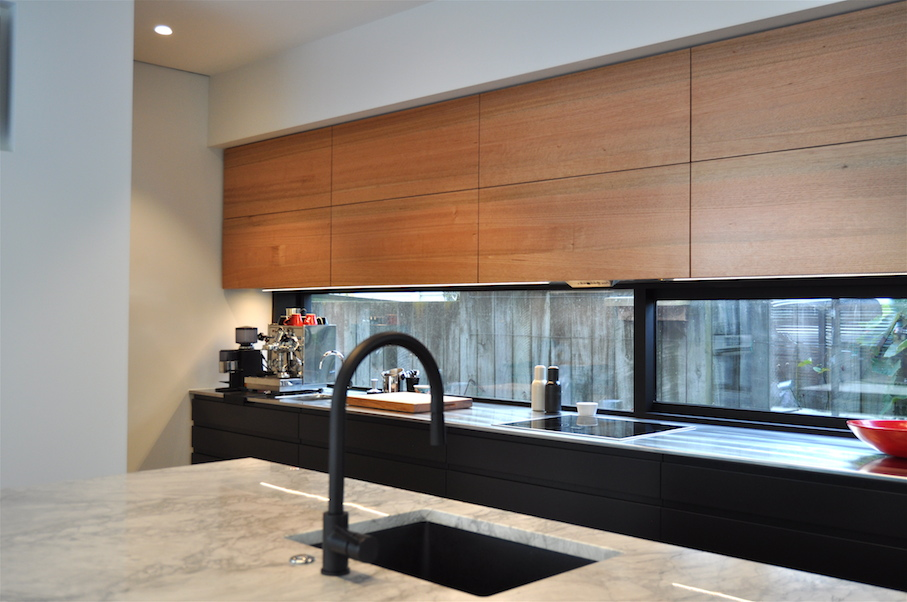 Modern kitchen refurbishment Mano Joinery